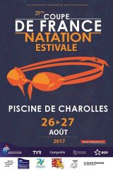 La Coupe de France de [ Natation Estivale à Charolles ] les 26 et 27 août 2017.