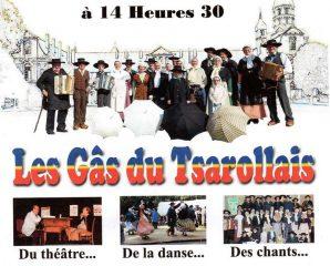 """Les Gâs du Tsarollais rejouent leur spectacle intitulé  """"Y parlent pas français!"""""""